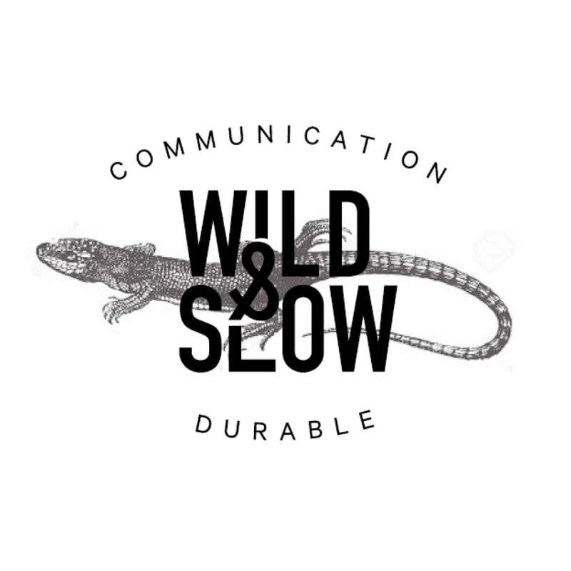 deuxième proposition de logo Wild&Slow agence à Nantes, Clisson