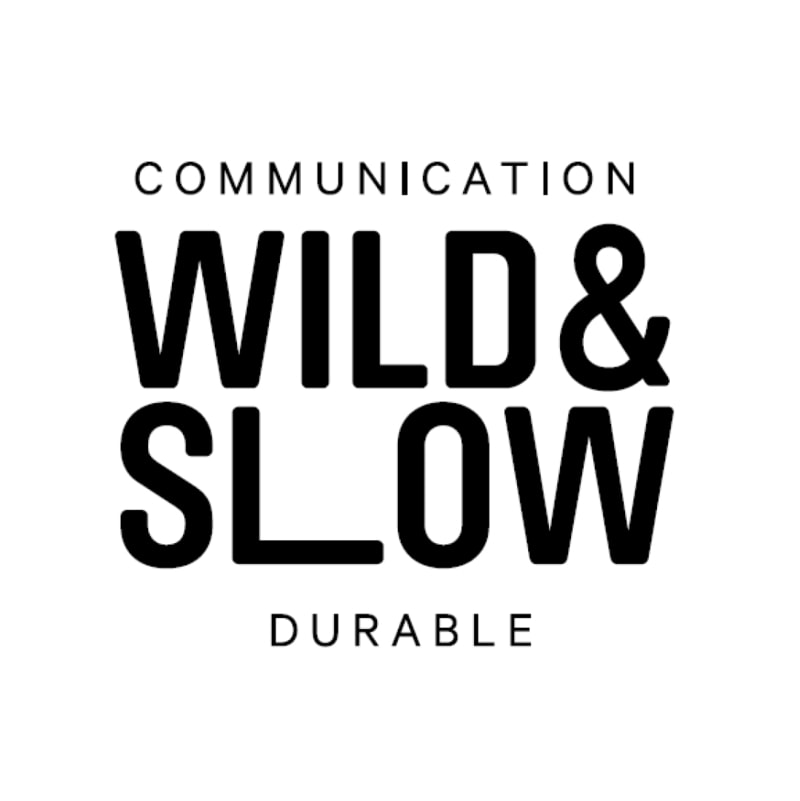 proposition de logo Wild&Slow agence communication à Clisson