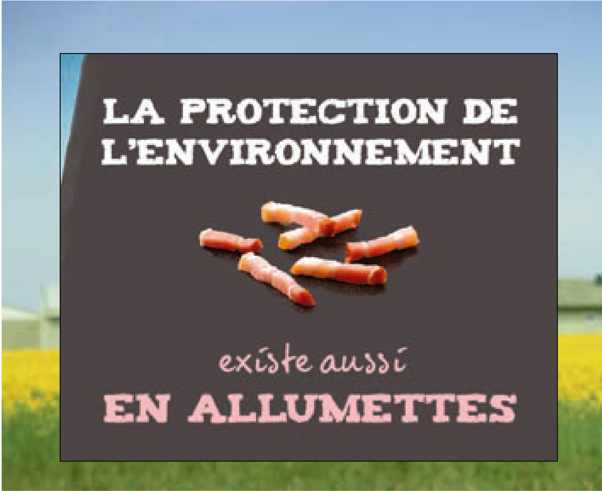 Bannière greenwashing