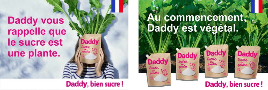 Affiche greenwashing Daddy
