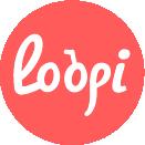 Logo de Loopi, tourisme durable