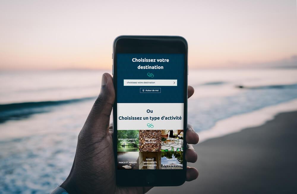 Site Web tourisme durable, communication developpement durable