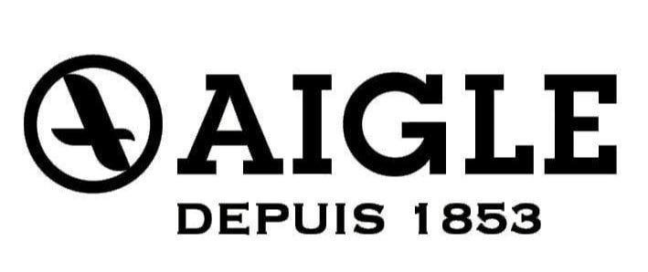 Le logo lettre de la marque Aigle