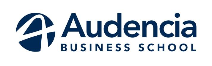 Le logo lettre d'Audencia Business School